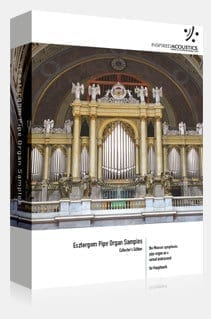 Inspired Acoustics Esztergom Symphonic Virtual Pipe Organ -sample set