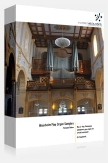 Inspired Acoustics Weinheim Symphonic Virtual Organ -Sample set