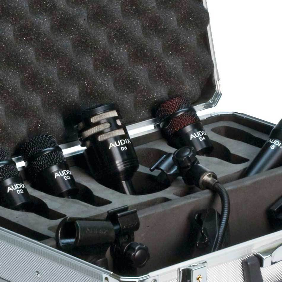 Audix DP5A 5 piece drum mic package