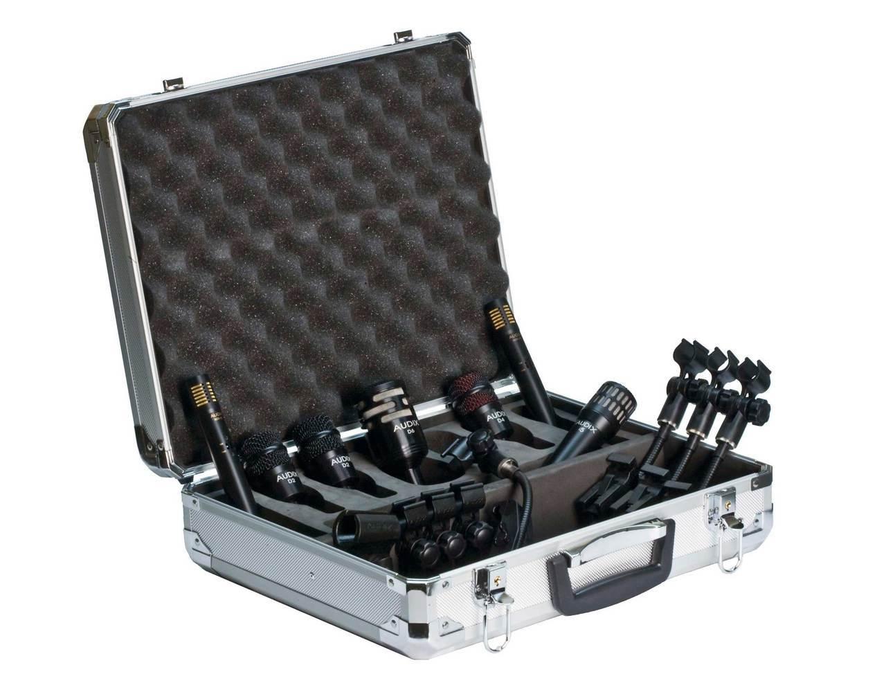 Audix DP7  7 piece drum mic package