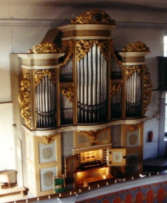 Pipeloops Silbermann Organ, Grosshartmannsdorf