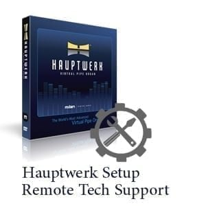 Hauptwerk Setup Technical Support