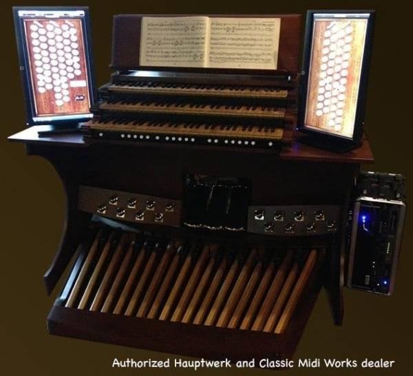 Hauptwerk Virtual Pipe Organ 3 manual