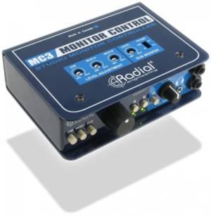 Radial MC3 Passive Monitor Selector
