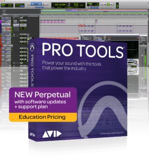 AVID Pro Tools Perpetual License Student