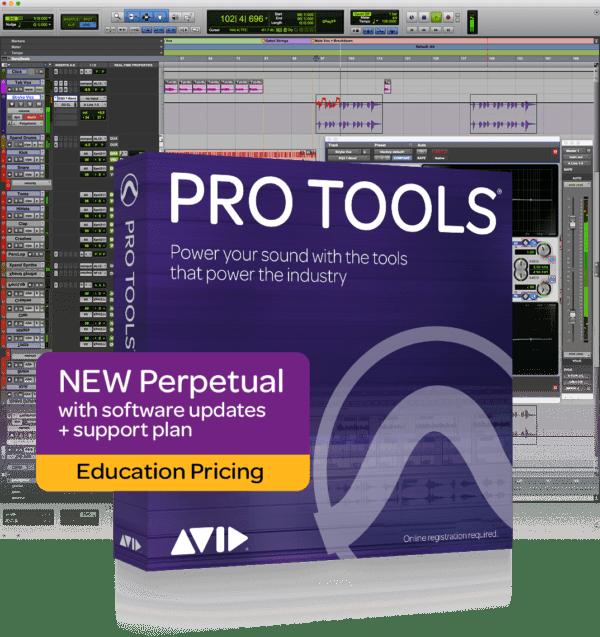 AVID Pro Tools Perpetual License Student