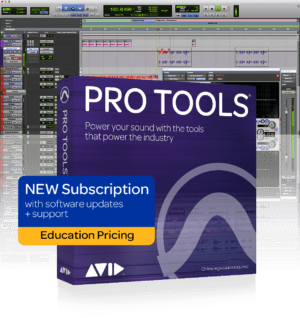 AVID Pro Tools 1yr Subscription Institution