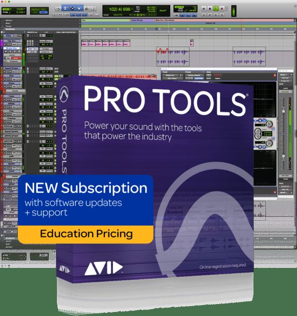 AVID Pro Tools 1yr Subscription Institution