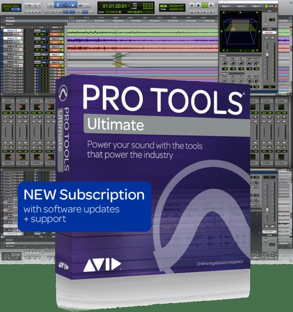 AVID Pro Tools Ultimate 1yr Subscription