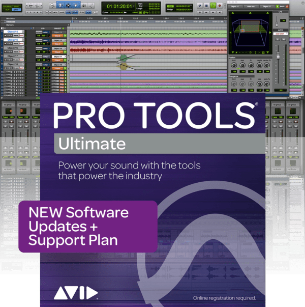 AVID Pro Tools Ultimate New Support Plan