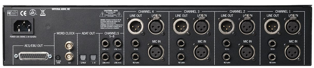 Universal Audio 4-710d  (FREE UAD QUAD PCIe or Satellite -For a Limited Time)