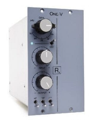 Rascal Audio One-V mic preamp