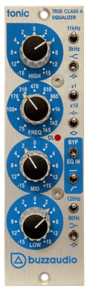 Buzz Audio Tonic 500 series EQ