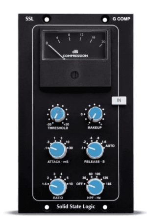 SSL 500 series Stereo Buss Compressor