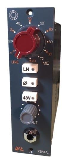 BAE 1073MPL 500 series mic pre