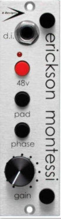 A-Designs EM-Silver Mic Preamp