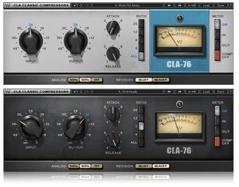 Waves CLA-76 Compressor Limiter Plugin