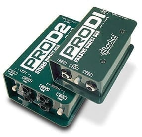Radial Engineering Pro D2 Stereo Direct Box