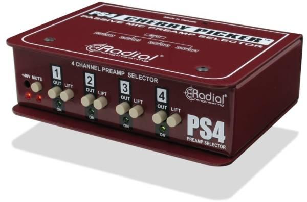 Radial Cherry Picker Studio Preamp Selector