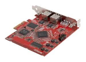 Yamaha NUAGE Dante Accelerator PCIe computer interface card