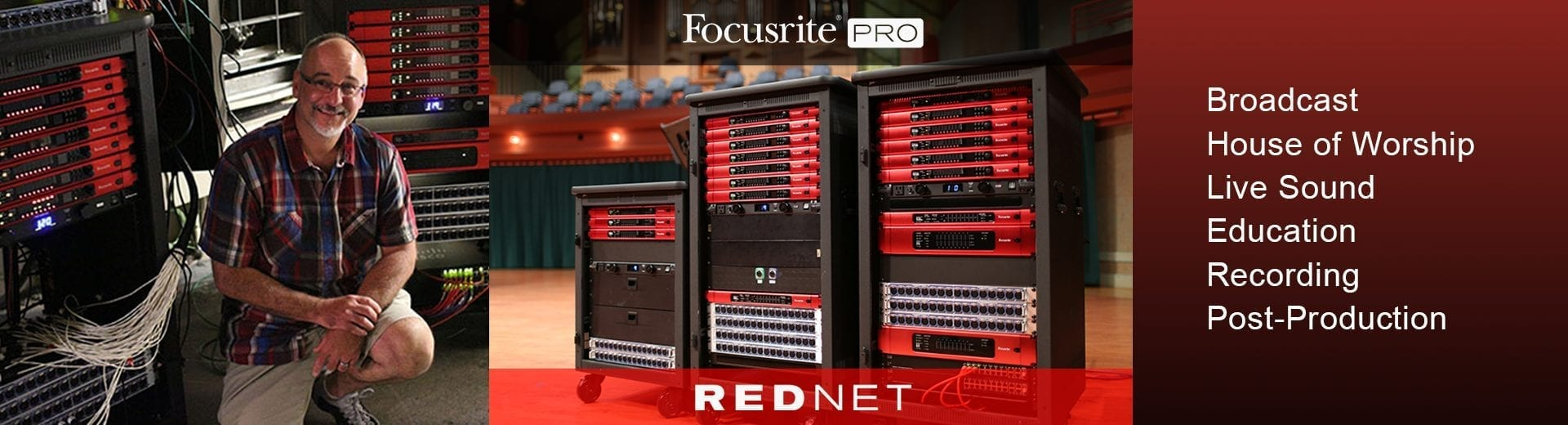 Focusrite RedNet Audio-Over-IP