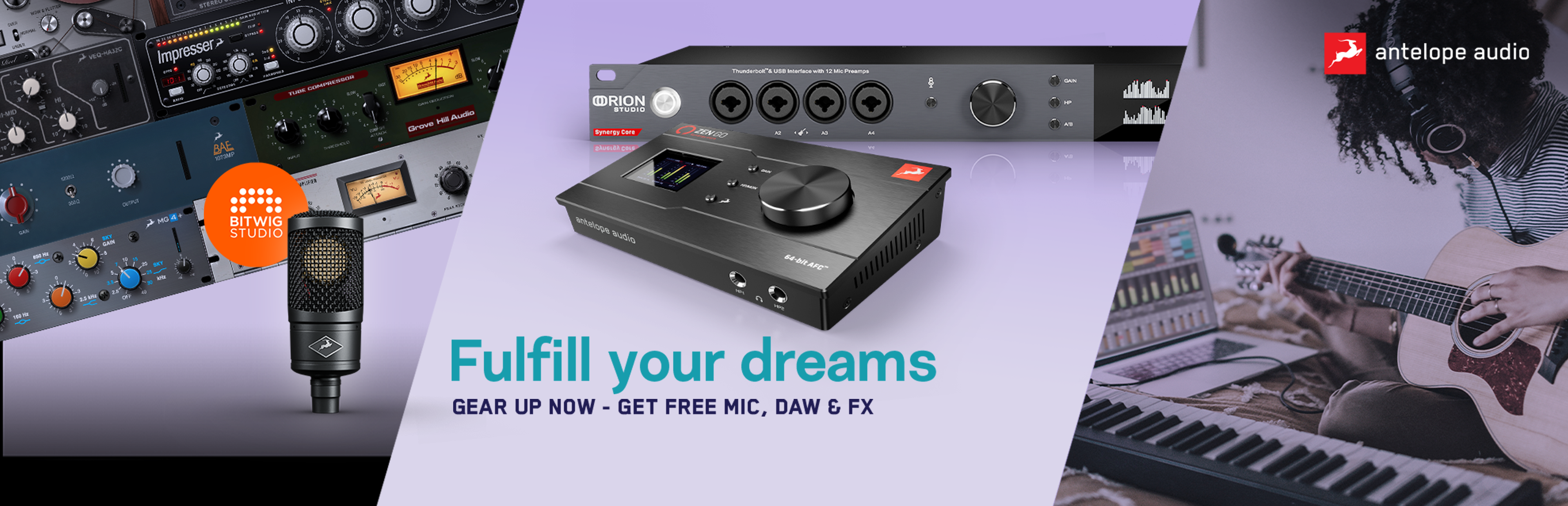 Antelope Audio   Fullfill Your Dreams